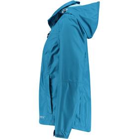 Meru Arta Veste imperméable 2 couches Femme, blue saphire